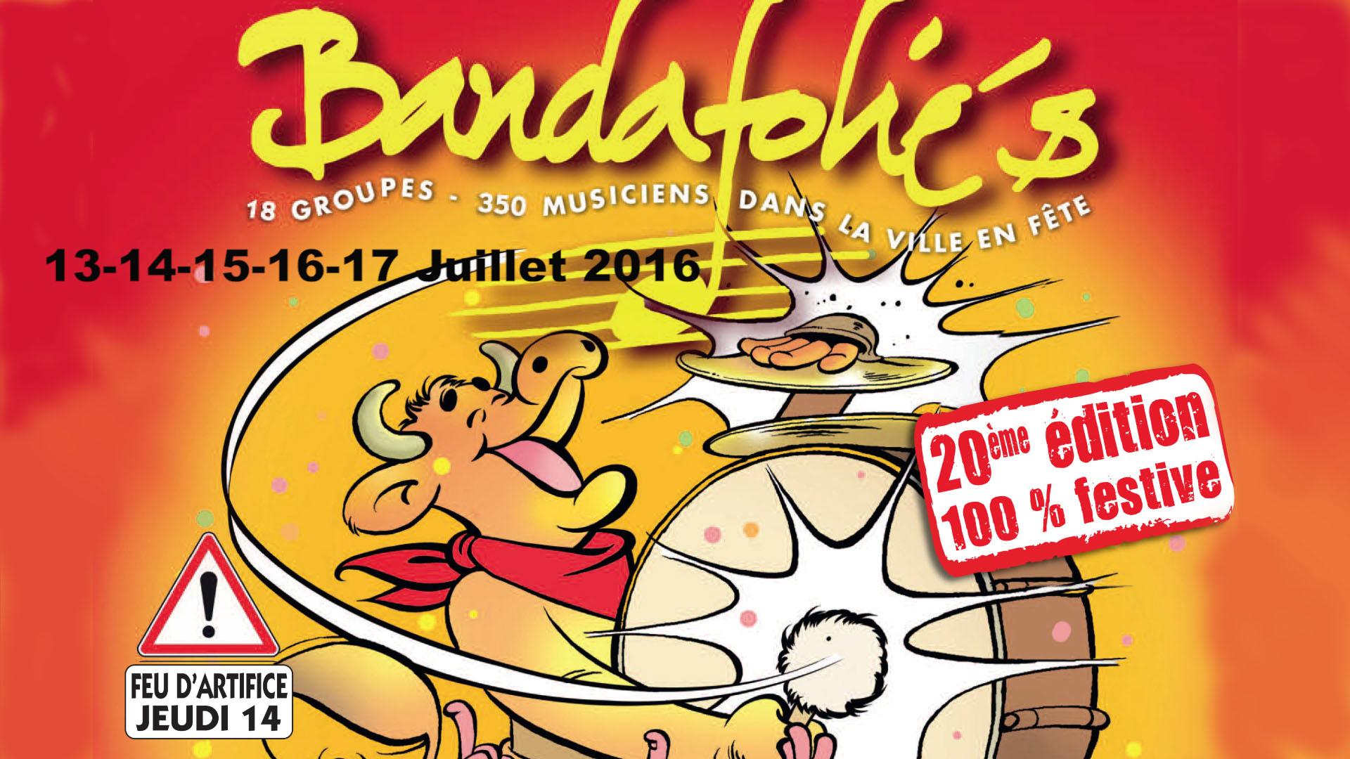 Présentation Bandafolies 2016